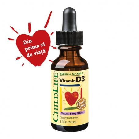 Vitamina D3 picaturi 500 UI copii 29,60 ml Secom