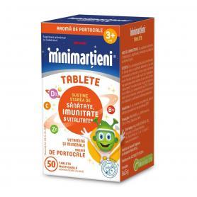 Minimartieni Imunactiv, aroma portocale, 50 tablete, Walmark