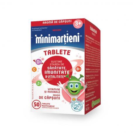 Minimartieni Imunactiv Capsuni 50 capsule, Walmark