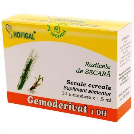 Radicele secara Gemoderivat, 30 monodoze, Hofigal