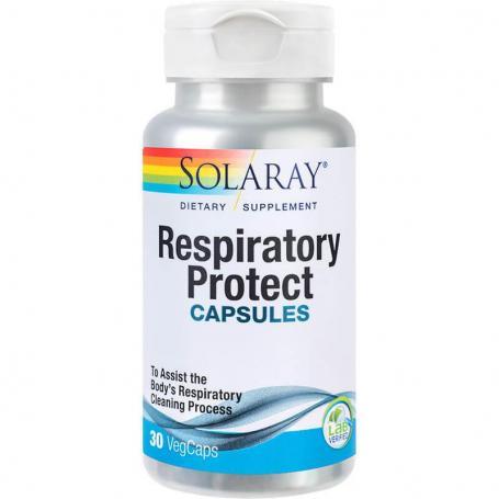 Respiratory Protect Capsules Solaray, 30 capsule, Secom