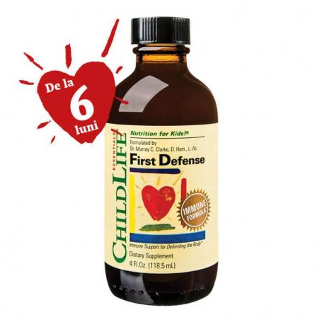 First Defense, sirop imunitate copii Secom, 118.50 ml, Childlife Essentials
