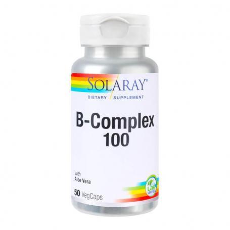 B-Complex 100, 50 capsule, Secom (Solaray)