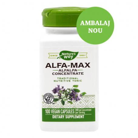 Alfa Max Lucerna, 100 capsule, Secom (Nature's Way)