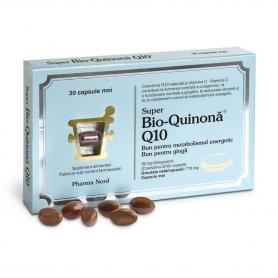 Super Bio Quinona BioActive Q10 30 mg, 30 capsule, Parapharm Nord