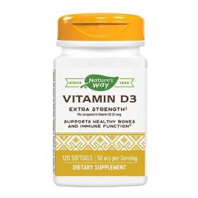 Vitamina D3 (2000 UI) 120 capsule, Secom