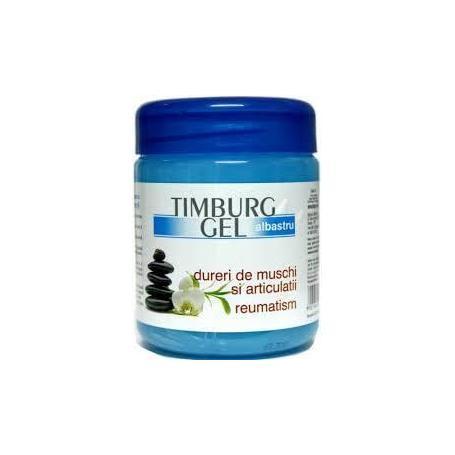 Timburg gel albastru pentru masaj si frectii, 500 ml, reumatism, articulatii, oase, muschi