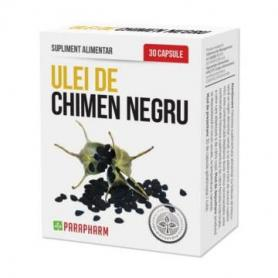 Ulei de Chimen Negru, 30 cps, Parapharm