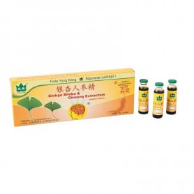 Ginkgo Biloba si Ginseng Extractum, 10 fiole, Yongkang
