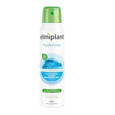 Antiperspirant Spray, Elmiplant cu Acid Hialuronic