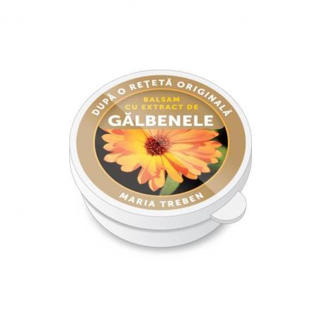 Balsam cu extract de galbenele, 30 ml, Maria Treben