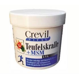 Gel Gheara Dracului + MSM, 250 ml, Crevil Vital