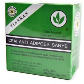 Ceai verde antiadipos, detoxifiere, Sanye Intercom