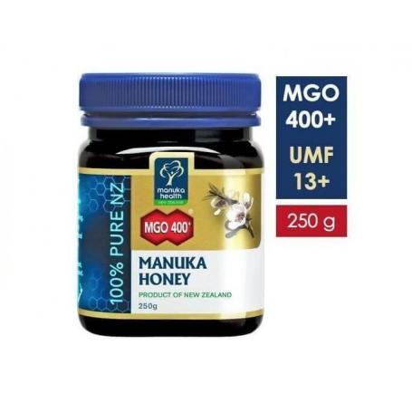 Miere de Manuka 250g, MGO 400+ UMF 13+ (Manuka Health)