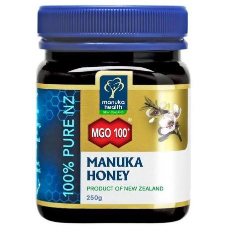 Miere de Manuka - Manuka Health, MGO 100+ UMF 6+ (250g)