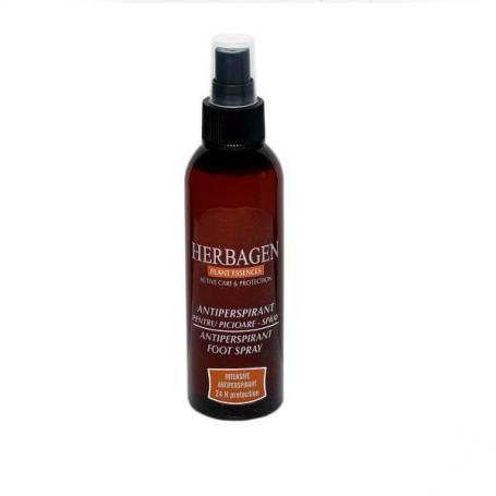 Spray antiperspirant picioare, 150 ml, Herbagen