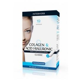 Colagen & Acid Hialuronic Clasic, 30 cps - Interherb