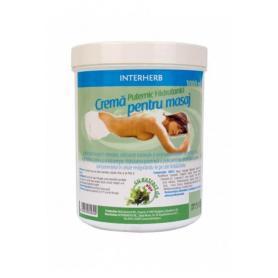 Crema masaj profesional cu extract de Alge Marine, 1000 ml - Interherb