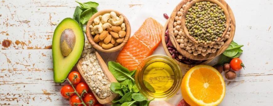 Produse alimentare naturale bio pentru un stil de viata sanatos